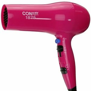 Conair 1875 Watt Turbo Hair Dryer; Pink